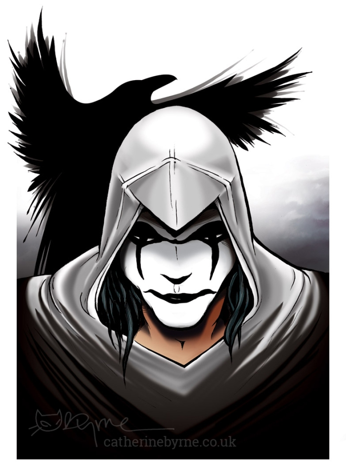 The Crow - Assassins Creed crossover by Cat Byrne