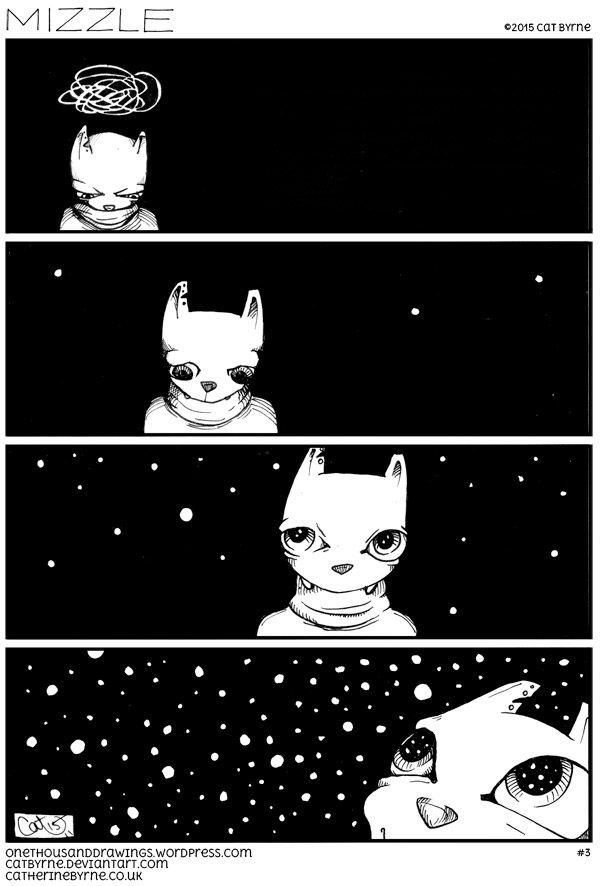 mizzle 3 Listen the snow is falling - webcomic by Cat Byrne