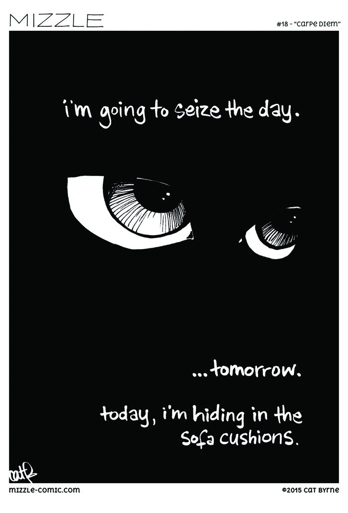 Carpe Diem - Mizzle webcomic by Cat Byrne