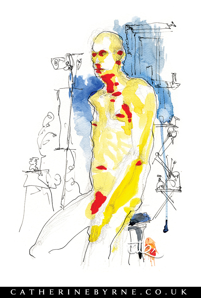 robin-11-watercolour-ink-life-drawing-by-cat-byrne