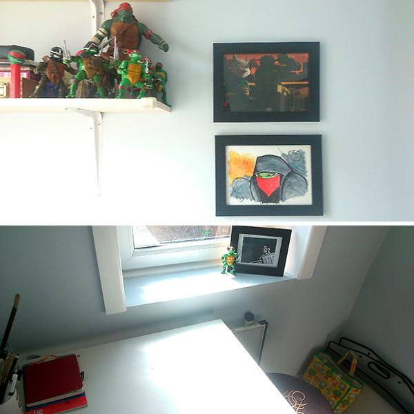 Cat Byrne art studio 2