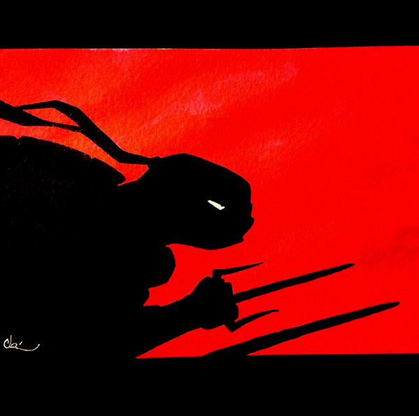 Raph by Cat Byrne for Inktober 2015