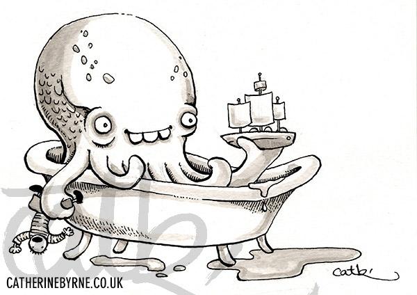 10-Cthulhu-in-the-bath
