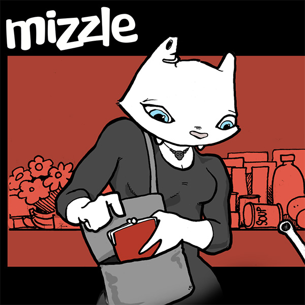 Mizzle comic 42 detail by Cat Byrne