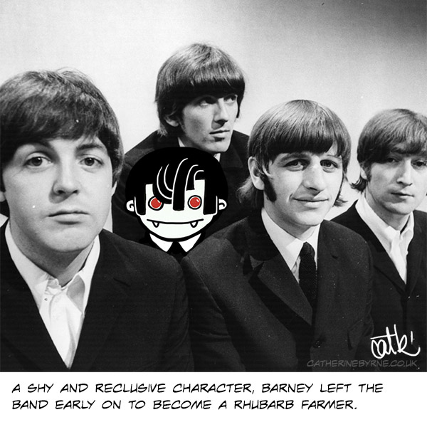 Barney the 5th Beatle shape challenge by Cat Byrne