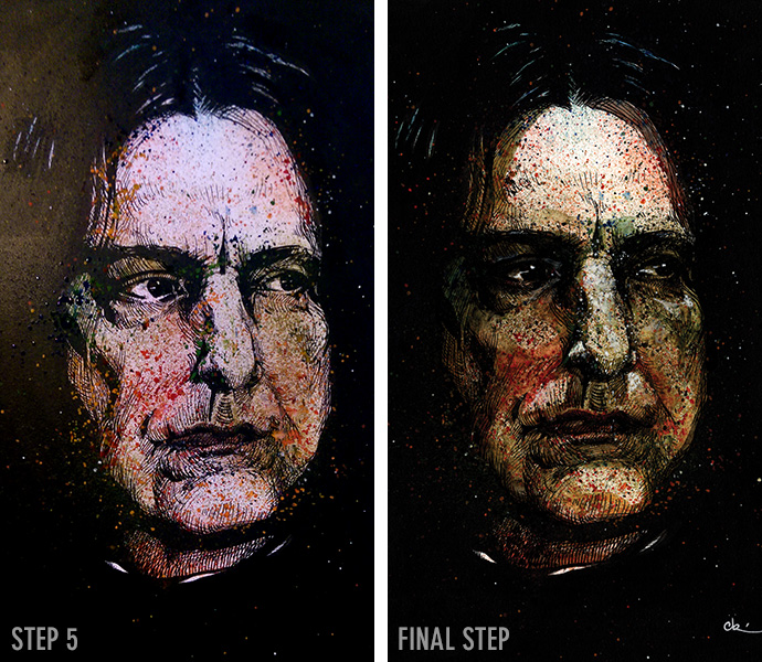 Snape steps 5-6 by Cat Byrne