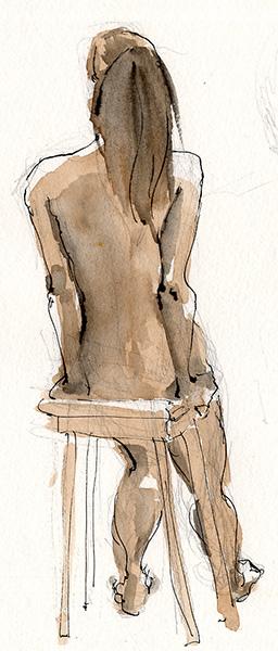 Anita sketch by Cat Byrne