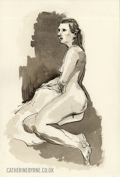 christina 26 figure drawing by cat byrne in todmorden