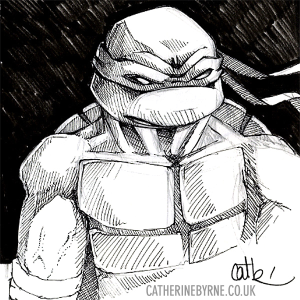 TMNT Raph by Cat Byrne