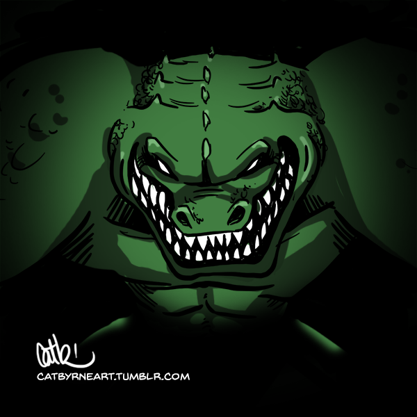 Leatherhead - 10 minute TMNT by Cat Byrne