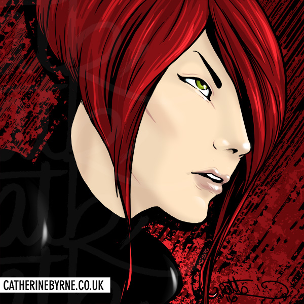 Black Widow by Cat Byrne