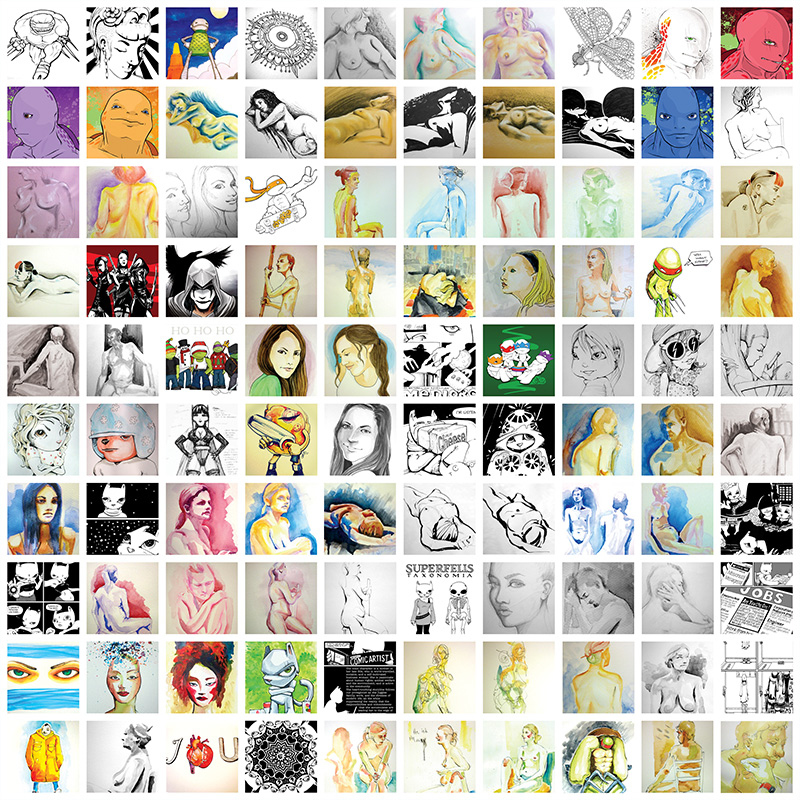 1000-drawings-by-cat-byrne_1-100