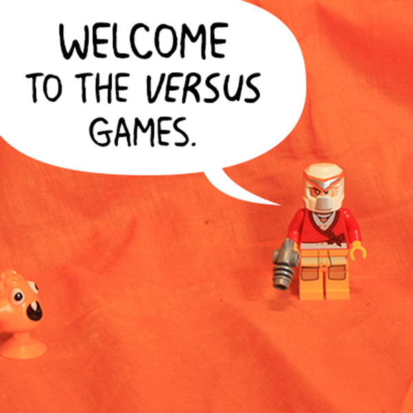 The Versus games stop motion animation by Darth Awesome and Mizzle Mog