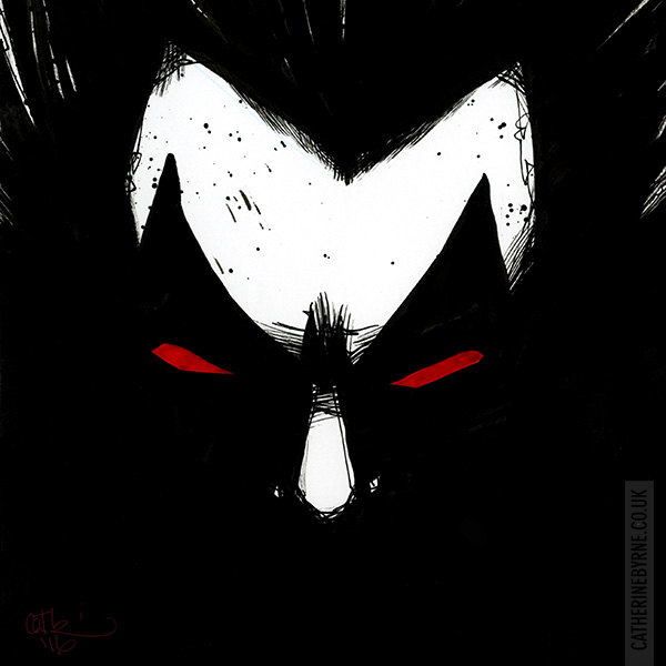 Lobo by Cat Byrne for Inktober 2016