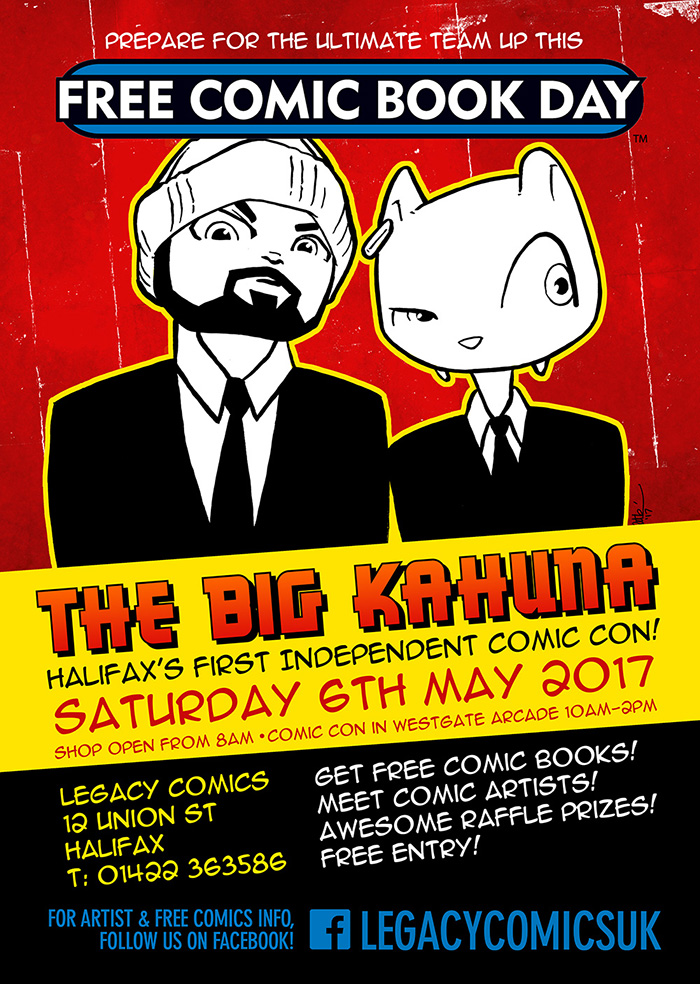 Big Kahuna FCBD Halifax West Yorkshire 2017
