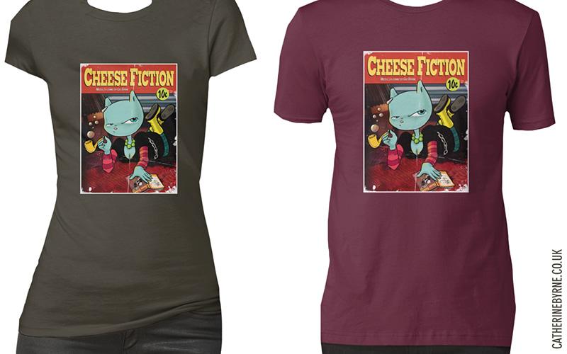 Cheese fiction tshirts