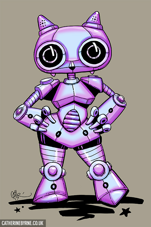 Mizzlebot 6000 - Mizzle robot by Cat Byrne