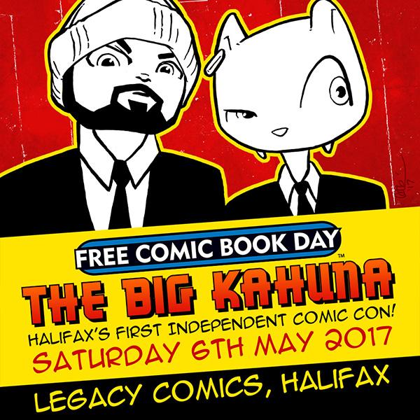 Free Comic Book Day 2017 FCBD Mizzle Legacy Halifax by Cat Byrne