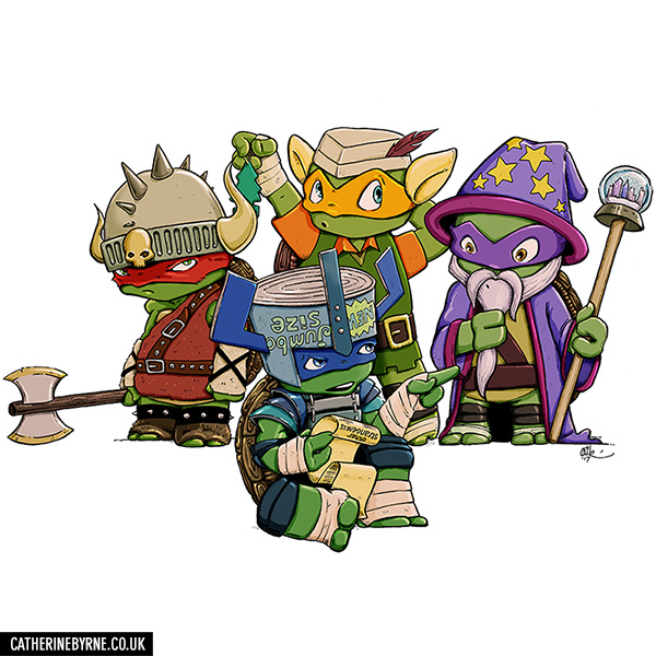 TMNT LARP by Cat Byrne