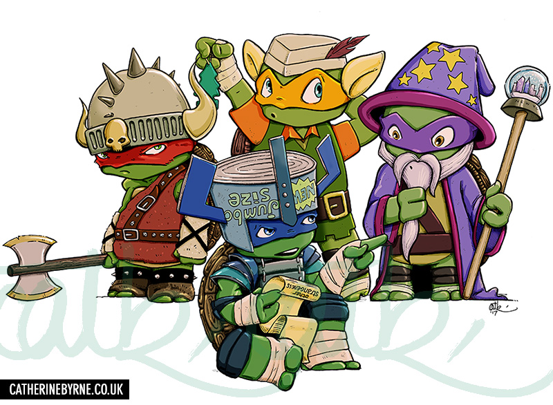 LARP TMNT - live action roleplay teenage mutant ninja turtles by Cat Byrne