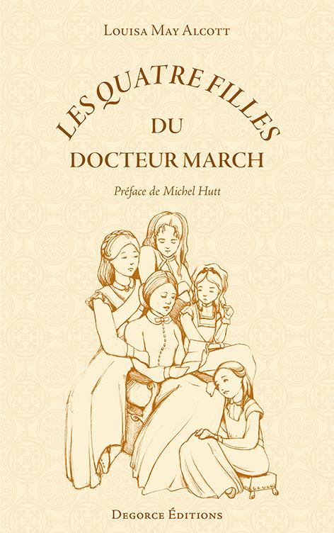 Les Quatre Filles du Docteur March Louisa May Alcott couverture de Cat Byrne