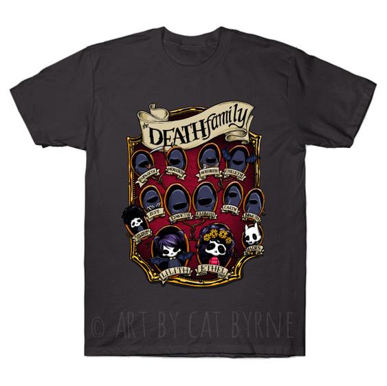 death-family-tree-tshirt