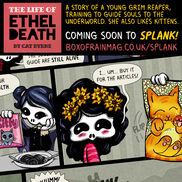 The Life of Ethel Death for Splank Comic