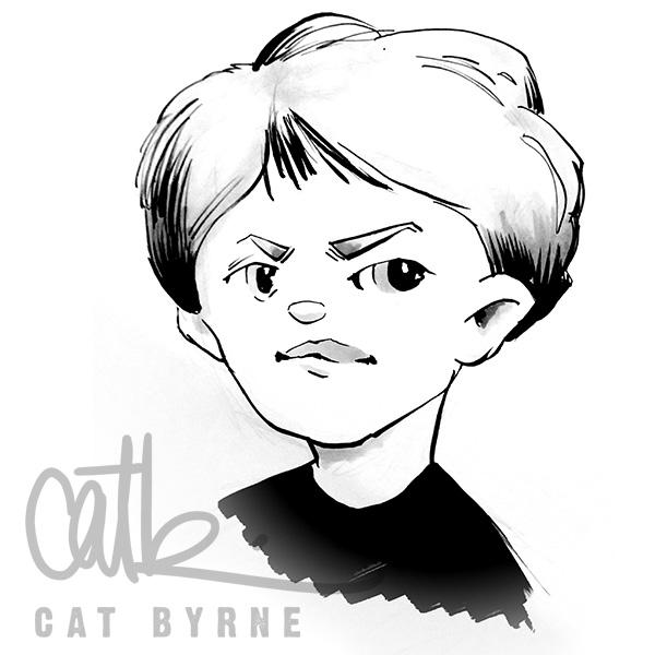 Todmorden Scribblecon sketch by Cat Byrne